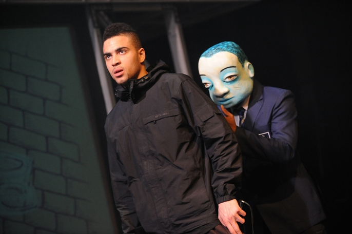 Ghost Boy - Courtney Hayles as Michae and Tachia Newall as Jamal