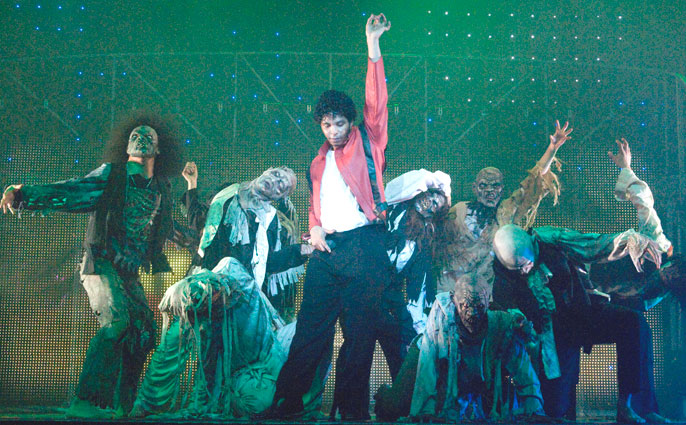 Thriller Live at the Lyric, Shaftesbury Avenue