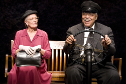 Driving Miss Daisy Vanessa Redgrave (Daisy Werthan) and James Earl Jones (Hoke Coleburn) photo credit Annabel Clark